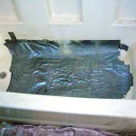 Duct tape - tub repair