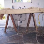 Plumbing - homemade sink