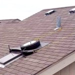 Roof - skylight flashing