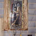 Wiring - spider web panel